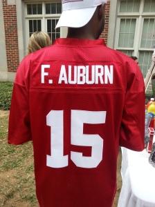 F Auburn Shirt