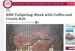 Steak coffe and cumin capture